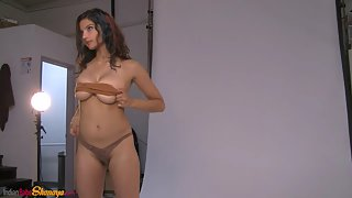 Amazing Indian Girl Shanaya Showing Juicy Tits