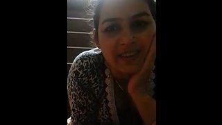 Steamy Indian Sex Mature Bhabhi Sending Love To Her Husband