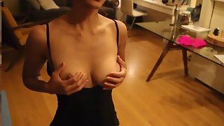 Lactating Breast Indian Housewife Masturbation Clip